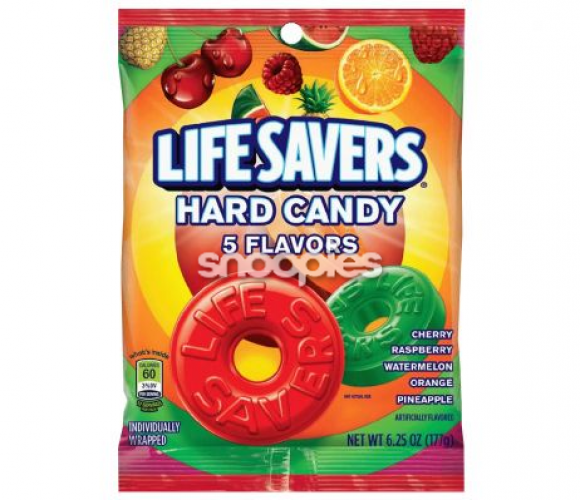 Lifesavers hard candy 5 flavours 177 gram