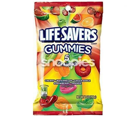 Lifesavers gummies 5 flavours bag