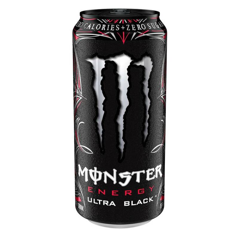 Monster Energy Ultra Black 500 ml