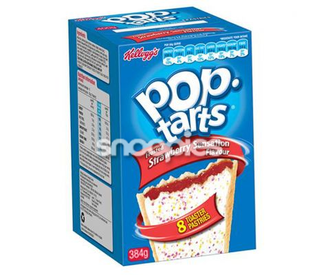 Poptarts Strawberry Sensation 384 gr.