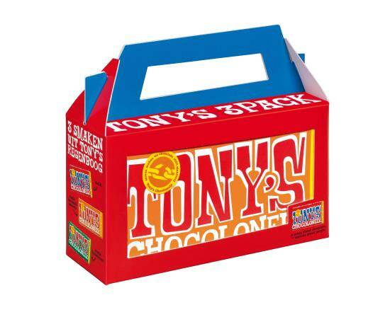 Tony chocolonely koffer 3 repen
