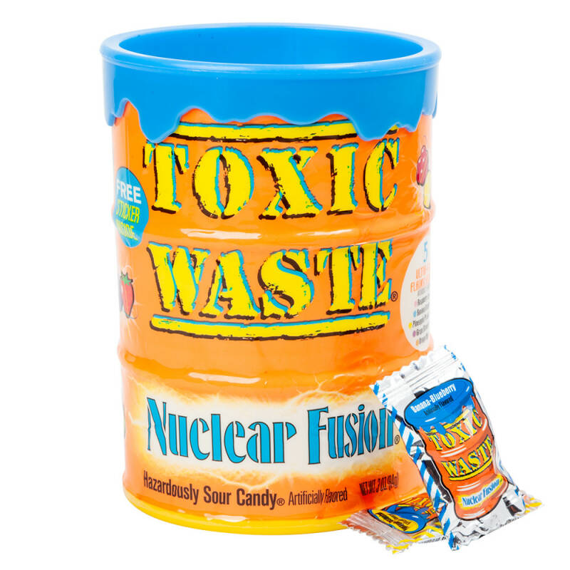 Toxic Waste Nuclear Fusion Drum