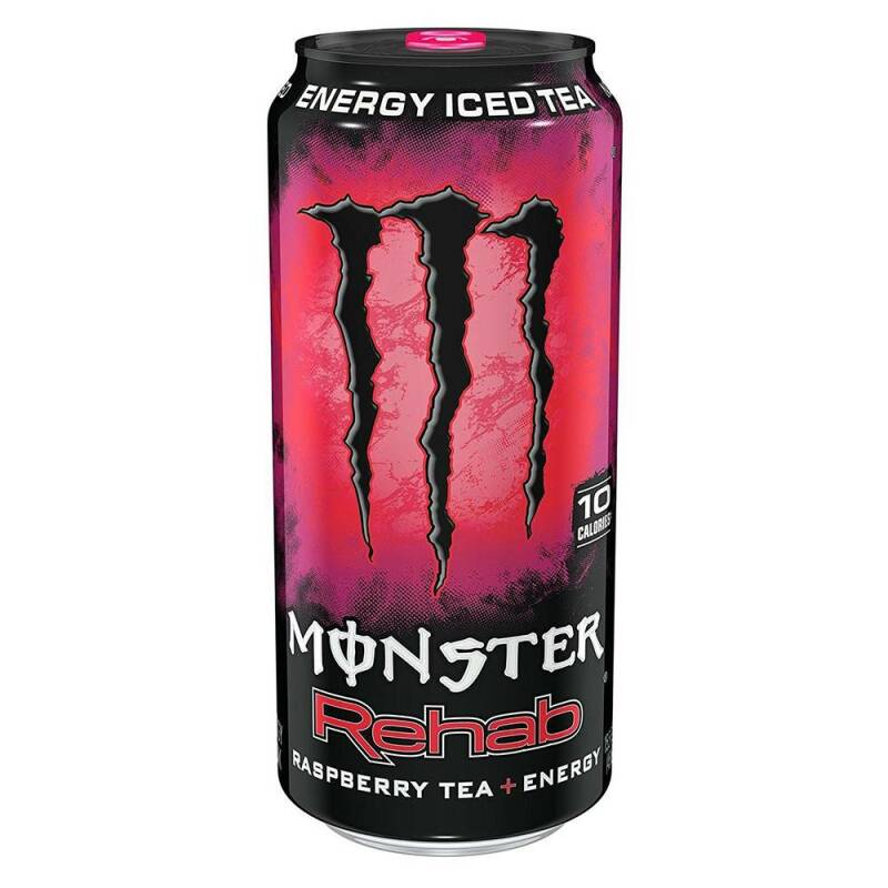 Monster energy rehab raspberry tea