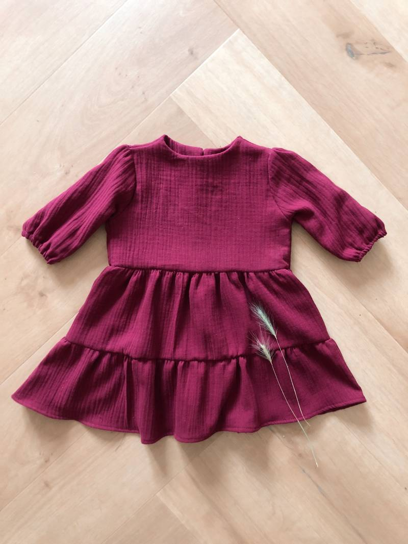 Fall Aubergine Dress