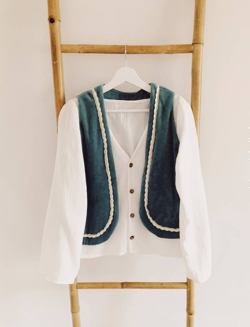 WOMAN Soft Turquoise Gilet
