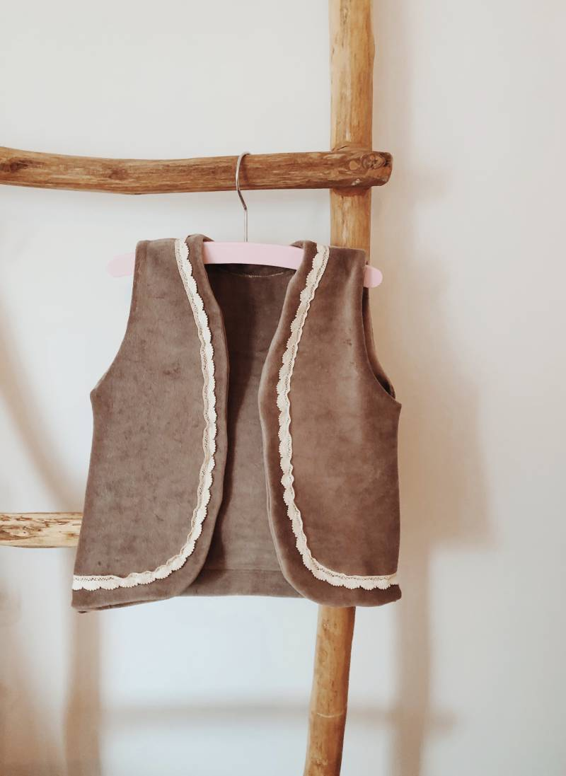 Soft Taupe Gilet