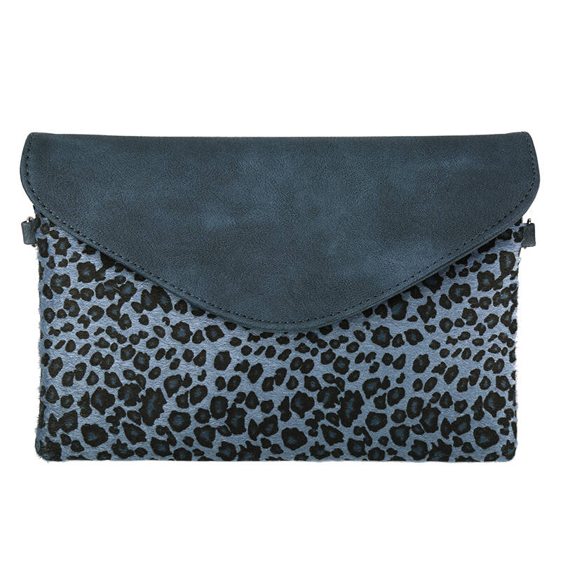 LICHTBLAUWE PANTER CLUTCH