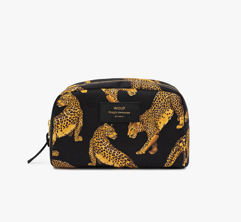 BEAUTYBAG ZWARTE PANTER