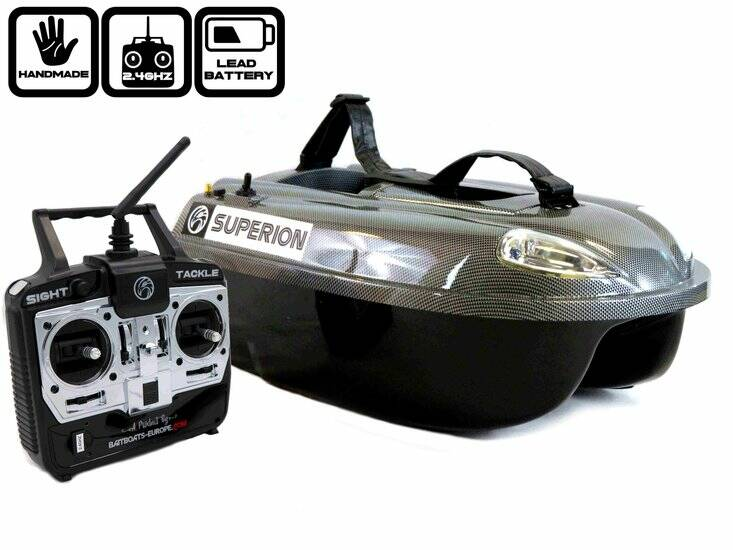 Sight Tackle Superion Voerboot met Lood Accu