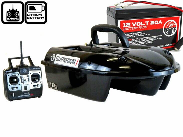 Sight Tackle Superion I Voerboot met Lithium ION Accu