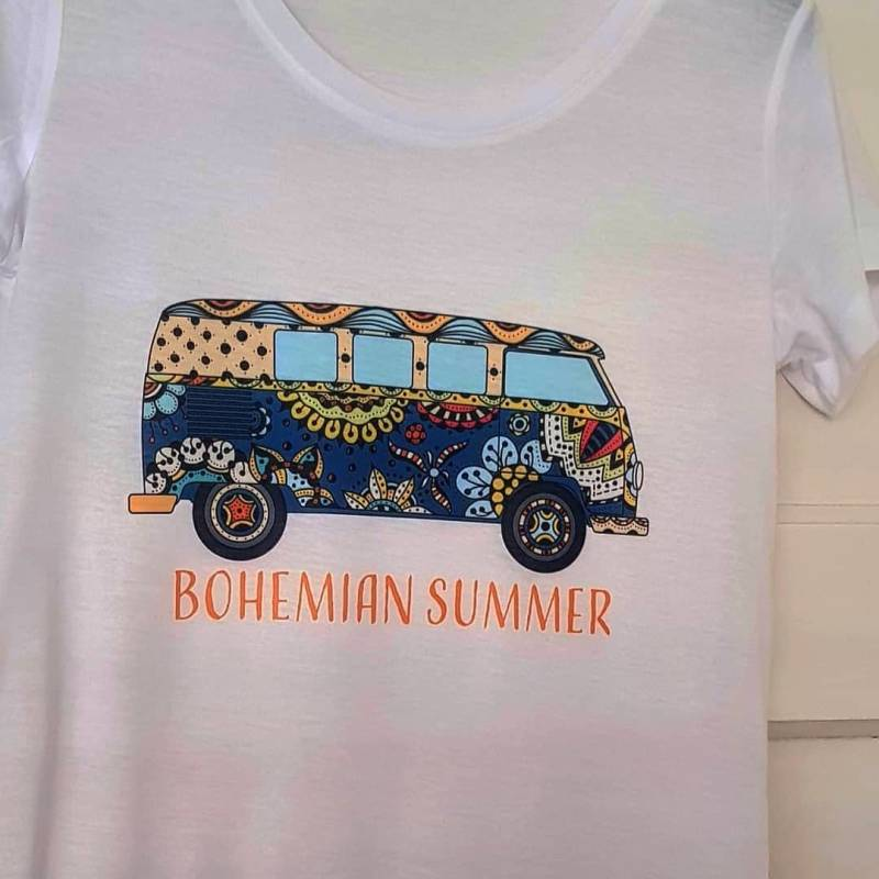 Ladies t-shirt  Bohemian Summer