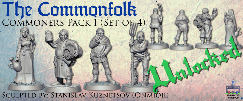 Commoner folk pack