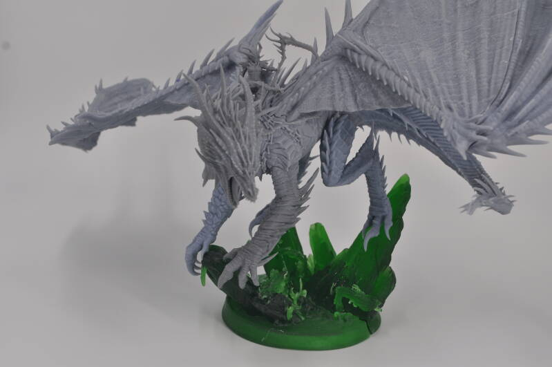 Infernal dragon with rider