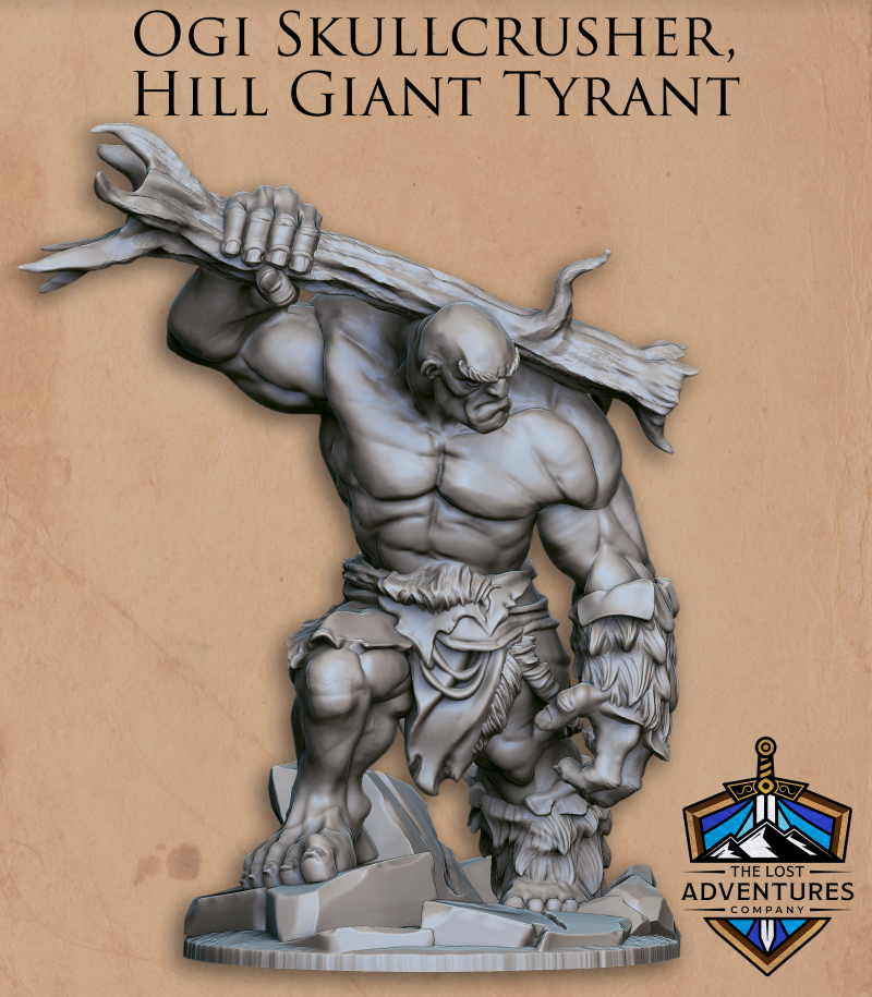 Ogi skullcrusher Hill Giant