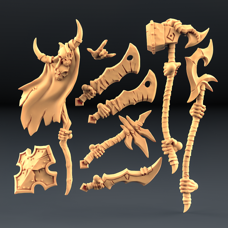 Abyss Demon weapon set