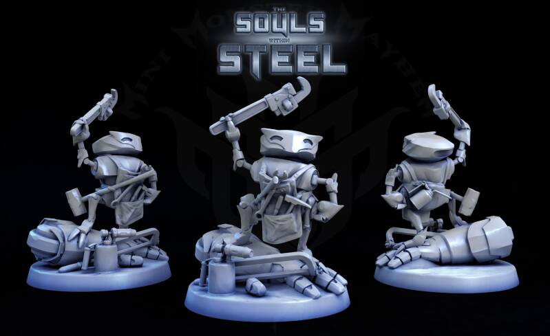 The Builder - the Souls Within Steel