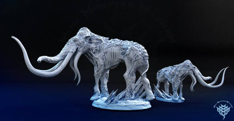 Undead Mammoth - Frozen Wasteland