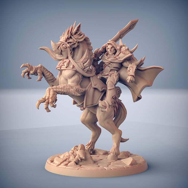 Warhorse and Gryphsteed - Fighter Guild