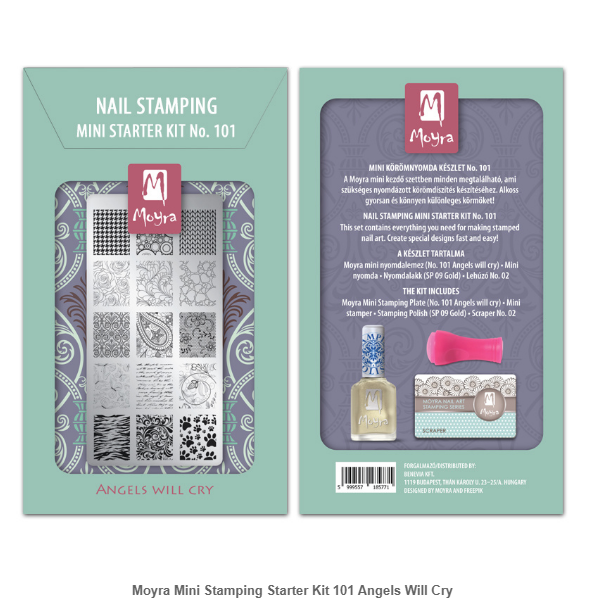 Mini Stamping Starter Kit 101 Angels Will Cry