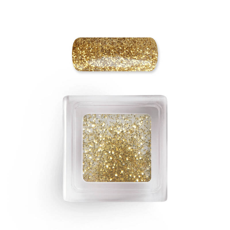 Color & Glitter Acryl Gold Shimmer no. 107