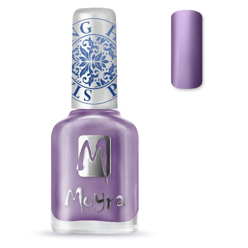 Stamping Nail Polish 11 Metal Purple