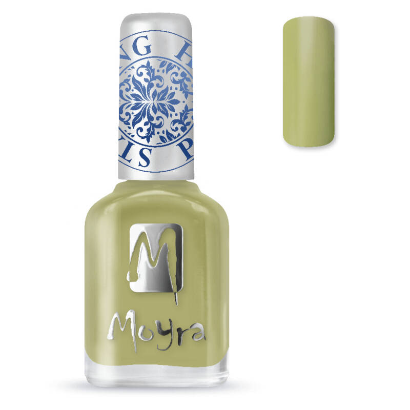 Stamping Nail Polish 15 Light Green