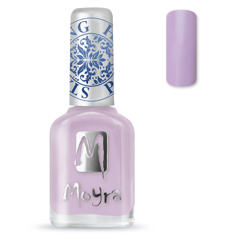 Stamping Nail Polish 16 Light Violet