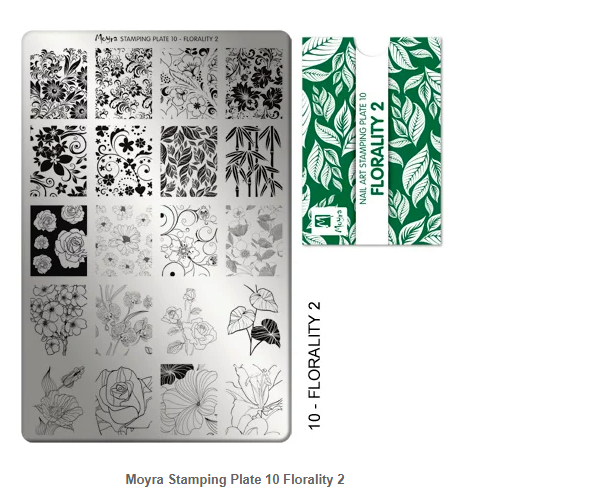 Plate 10 Florality 2