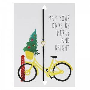 """Wenskaart """"May Your Days Be Merry"""""""