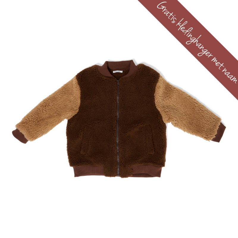 DAILY BRAT • bomber jas Billy • cone brown