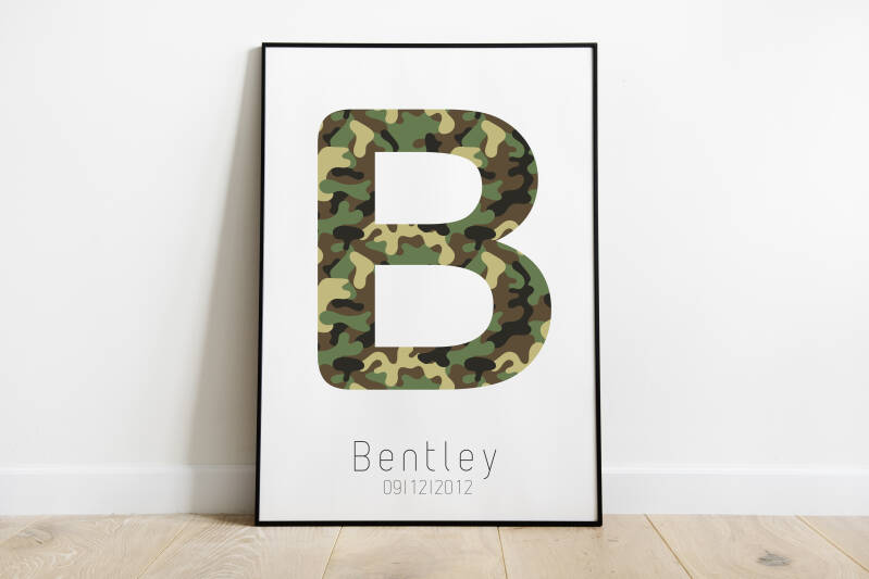 Letterposter • legerprint