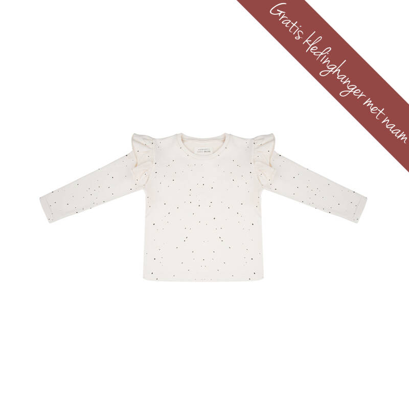 Little Indians • longsleeve ruffle • stippen