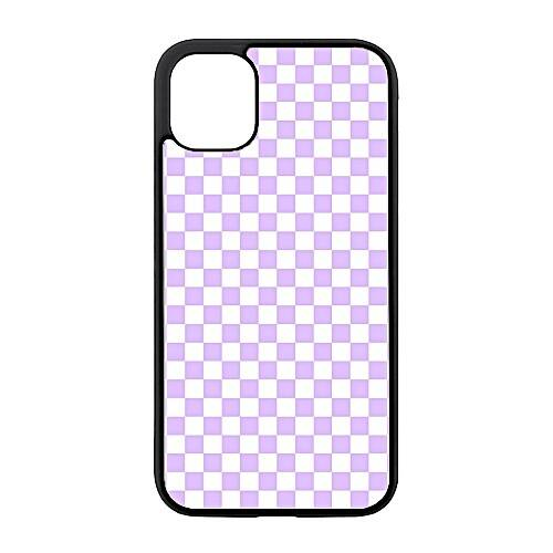 Checkered Purple