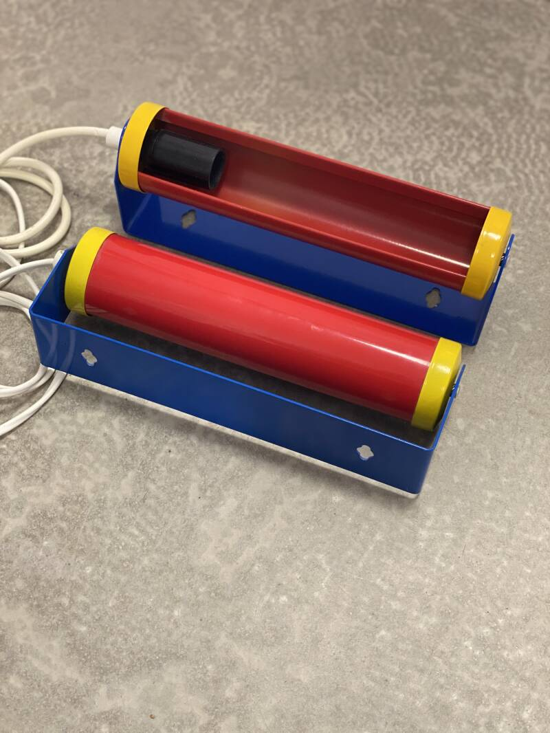 Vintage Philips Wall Lamp - Memphis Style - Primary Colors
