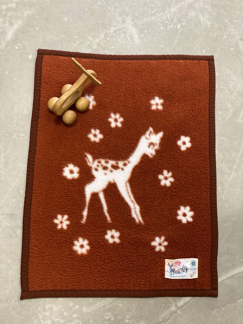 AaBe Made in Holland - Vintage baby blanket