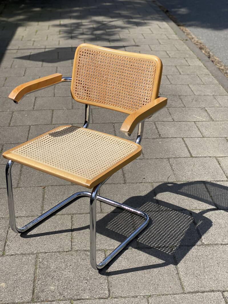 """Webbing chair - """"Cesca"""" Made in Italy"""