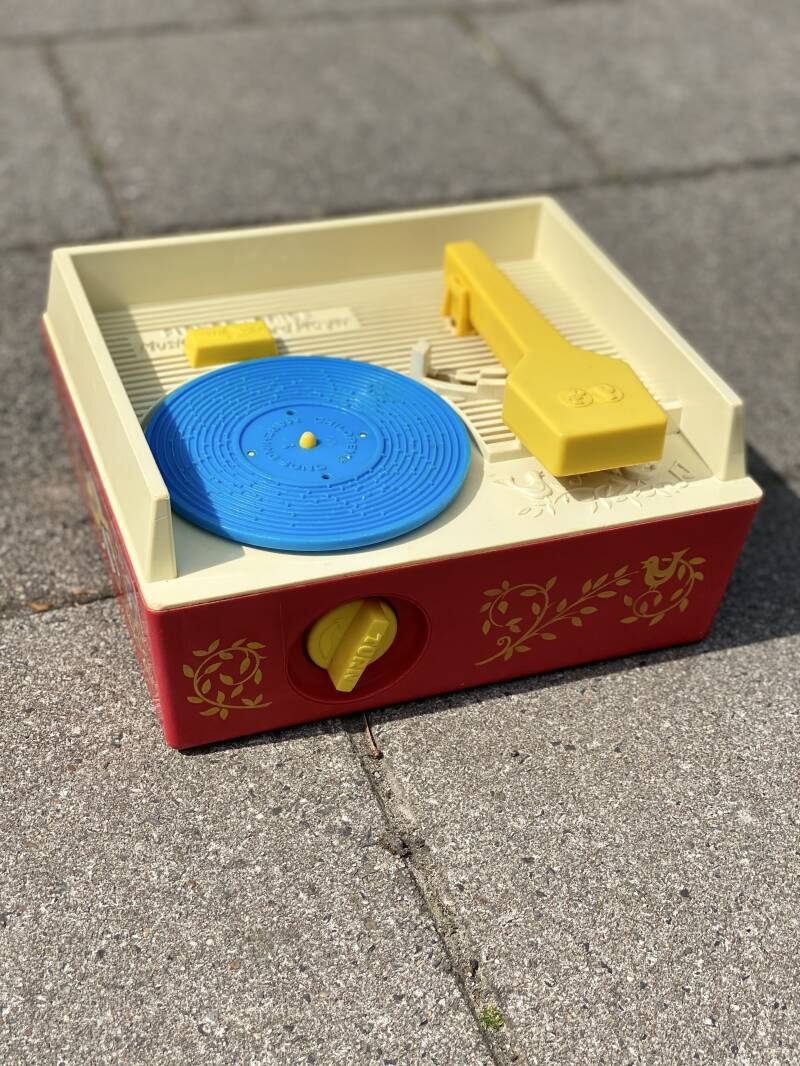 Vintage Fisher Price - Record Player