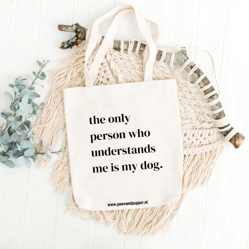 Tote bag - The only person