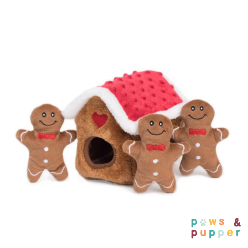 Holiday Burrow - Gingerbread house