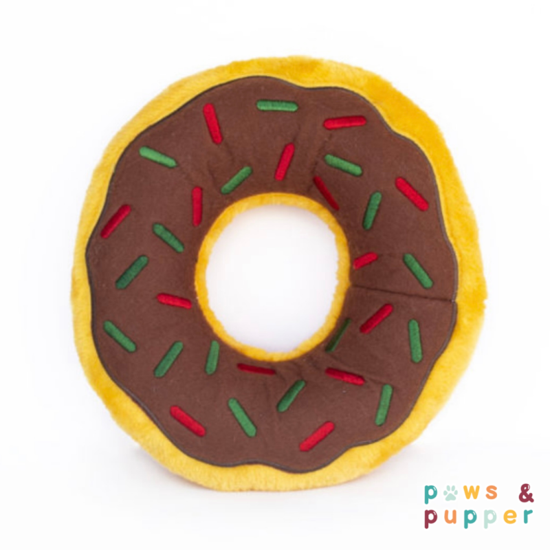 Holiday donut gingerbread XL