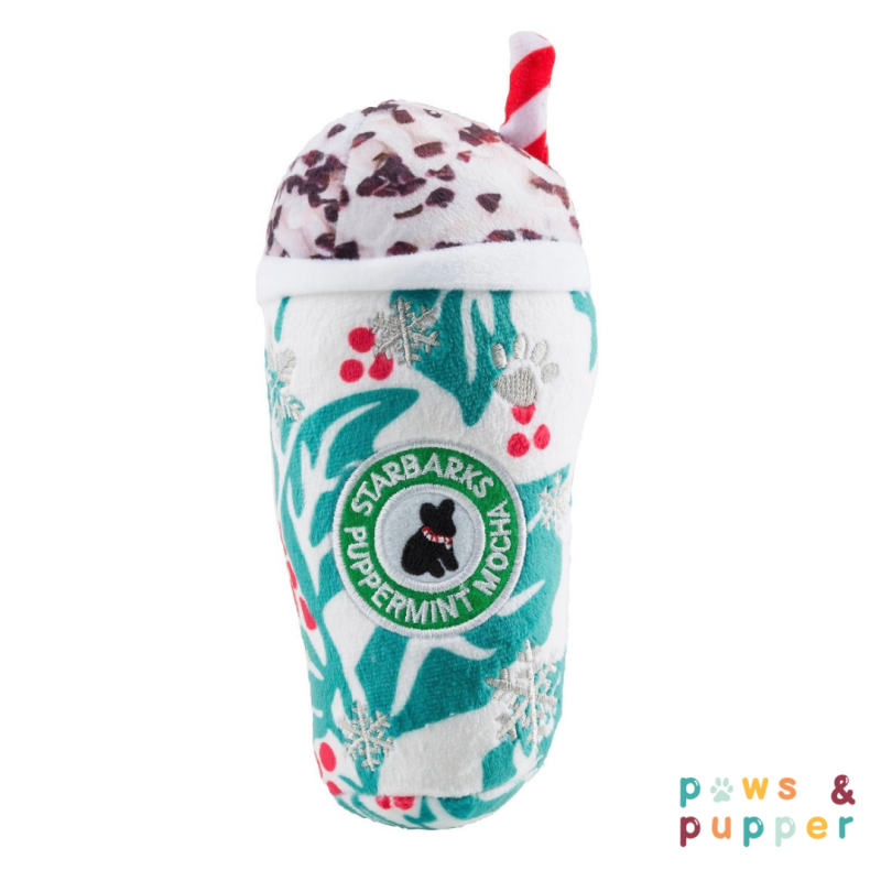 Holiday Starbarks - Puppermint mocha leaves