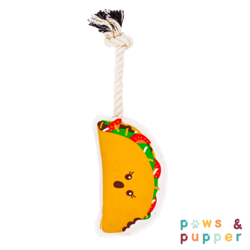 Rope toy - Taco