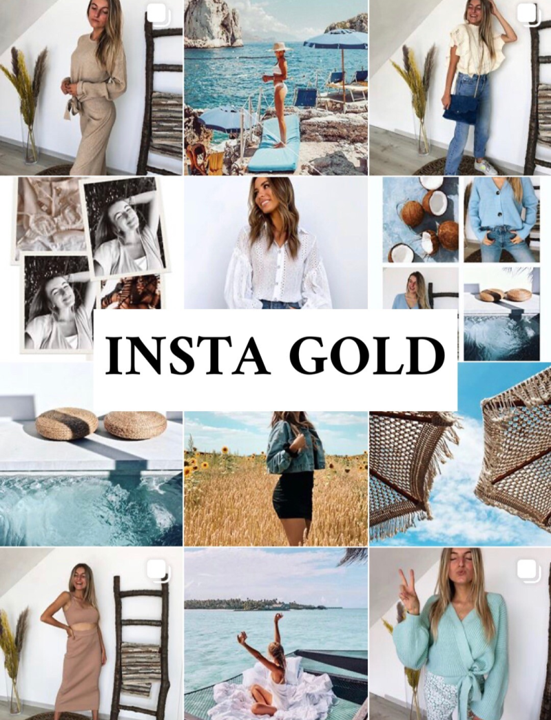 INSTA GOLD - Guide Book (10 tips)