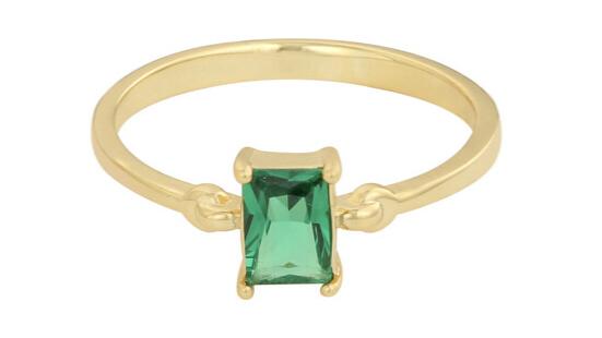 Waldorf ring - Green