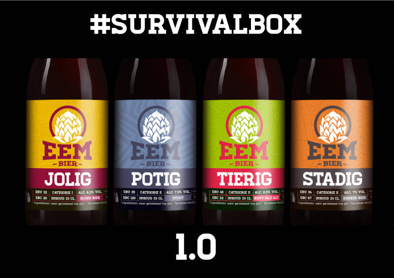 #SURVIVALBOX 1.0 (MIXED)