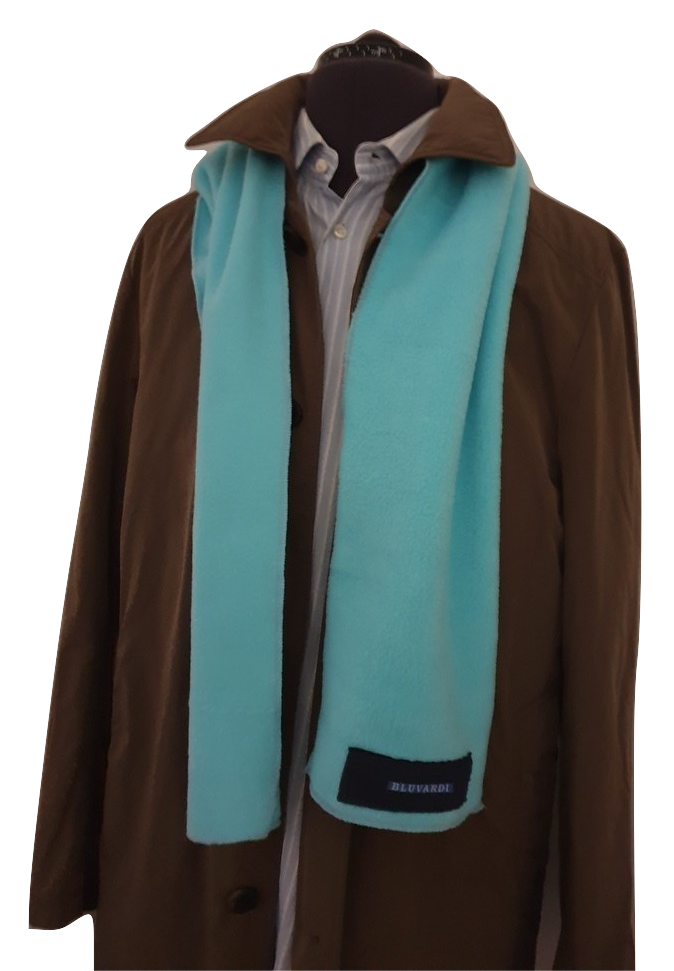 Bluvardi- Antipilling Fleece Sjaal -Mint