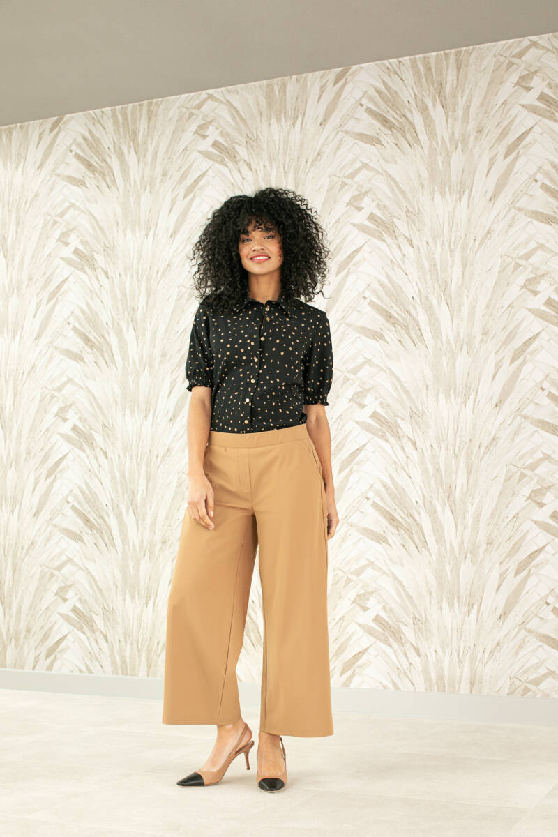 HILDE BONDED TROUSERS