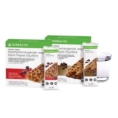 2670	 Herbalife® Formula 1 - maaltijdvervangende reep rode bessen en yoghurt / Formula 1 - Meal Replacement Bar Red Berry