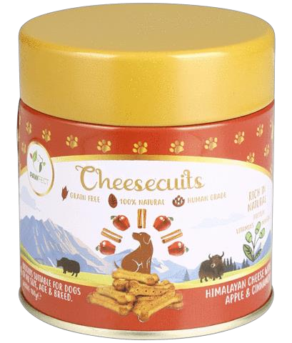 Pawfect Cheese biscuit with Apple & Cinnamon 100 gram