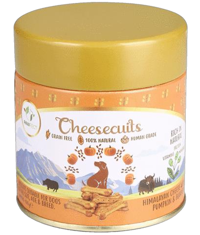 Pawfect Cheese biscuits with Pumpkin & Flaxseed 100 gram